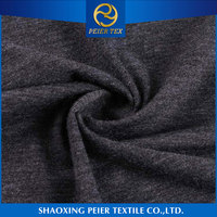 Latest design elegant shrink resistance twill fabric spandex jumbo spandex charcoal bamboo fabric