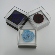 Luxury Transparent Acrylic flower box gifts