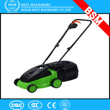 Top Sale hand push portable gas mini lawn mower / electric lawn mower