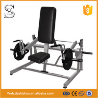 Wholesale plate loaded fitness equipment Seated/Standing Shrug machine RHS32 for gym exercise