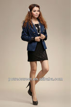 2013 fringe close-fitting girls suit