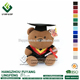 2018 Personalized stuffed plush graduation bear toy