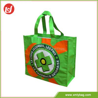 Factory design cartoon logo custom non woven eco shopping bag