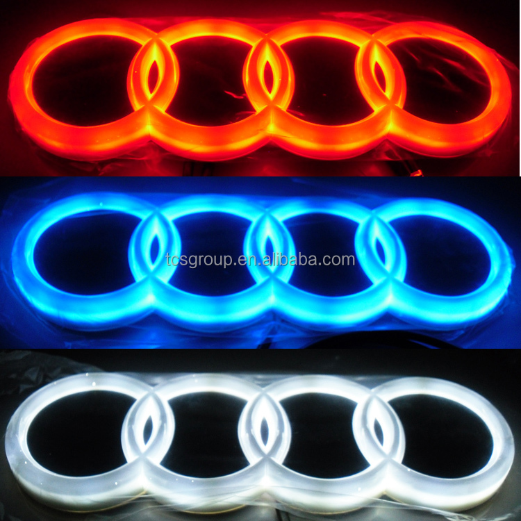 New auto led car emblem for audi