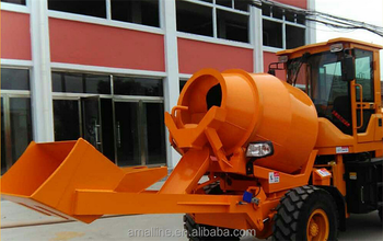 3 Years-Guranteen 3.5 CBM 4x4 Mobtomatic Self Loading Concrete Mixer Truck for saleile Au
