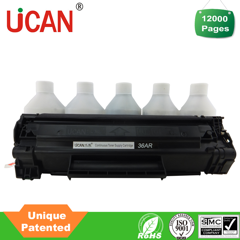 36A toner cartridge compatible for HP /Canon printer cartridge not sharp photocopier