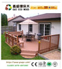 Good quality wood plastic composite railing/ wpc outdoor fencing