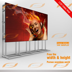 New Product! 49-inch LG IPS LED Panel 3.5mm Ultra Narrow Bezel 3x3 LCD Video Wall