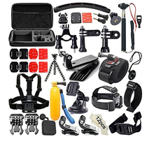 Hot Selling Gopros accessories kit, Gopros camera accessories set for all Go pro Heros cameras accessories