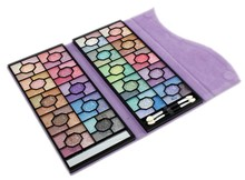 Professional flower pattern various color eyeshadow palette