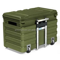 roto molded plastic tool case mold,rotational box mold,military mould