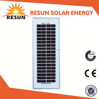 RESUN best price 12v 5w solar energy product