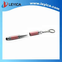 Ballpoint pen factory direct creative personality metal bullet capacitive pen capacitive screen stylus