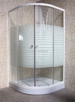 Europe and Africa simple 70*70 80*80 adjust glass shower enclosure room