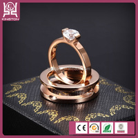 mens yellow gold cubic aaaaa cubic zirconia rings