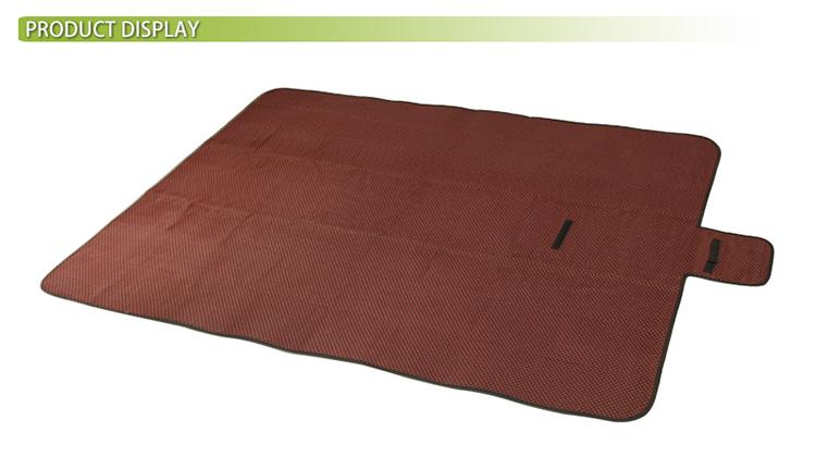 중국 피크닉 사용자 정의 디자인 야외 캠핑 방수 비치 매트 접이식 피크닉 담요 aldi