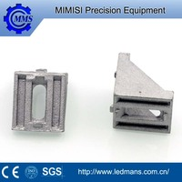 MMS CNC machining,precision machinery machining 303 stainless steel long solid retaining bracket according to