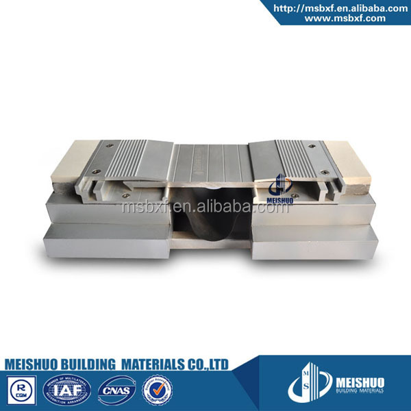 aluminum profile interlocking design expansion joint materials
