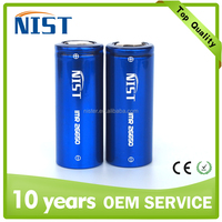 New! High discharge rechargeable li-ion 26650 battery 5200mAh 50A NIST 26650 battery