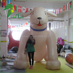 Pretty Custom-made Newest Outdoor Display Cartoon Hongyi Cream PVC 3m Promotion Inflatable Dog