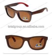 Cheapest wood and bamboo polarized mirrored lens sunglasses OEM wood and bamboo sunglasses
