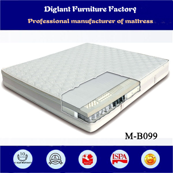natural latex health care mattress (M-B099)