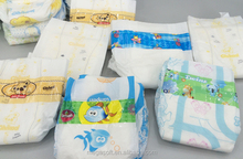 B-grade Disposable Baby diaper in Bulk Manufacture in China