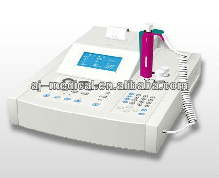AJ-1322 Man-machine Conversation Operation Double Channel Blood Coagulation Analyzer with Large LCD Display