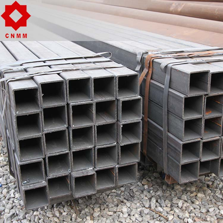 plastic coated ms erw square hollow section steel pipe/tubes(rhs/shs) black iron pipe