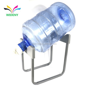 Wholesale suppliers Detachable stackable holder dispenser tap metal iron wire chrome storage display 5 gallon water bottle rack