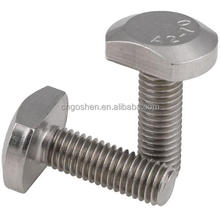Stainless steel A2-70 m8 T bolt