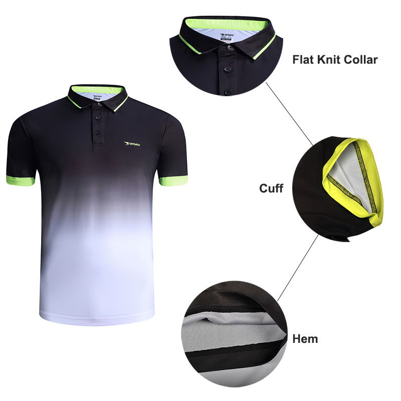 Custom mens Golf sublimación impresión polo