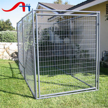 1.5x1.8m welded wire panel galvanized outdoor dog kennel , Tube Dog Crate , Pet Cages