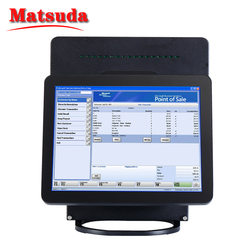 China top rated touch screen tablet pos pc, biometric fingerprint dual screen pos system, pos terminal monitor