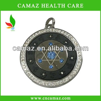 Quantum bio scalar energy pendant with anions energy