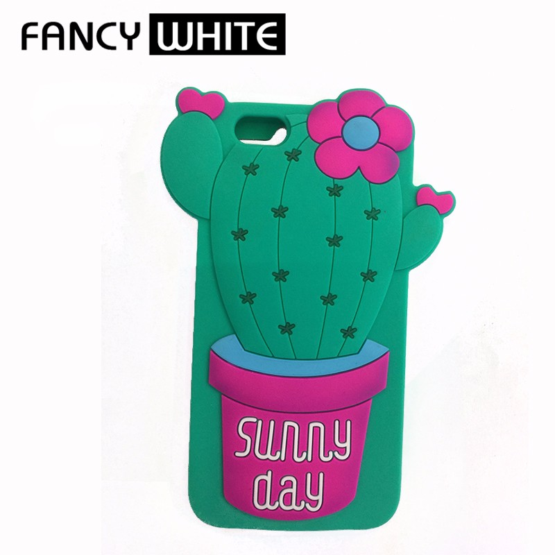 Plant shaped customized silicone beautiful mobile phone covers