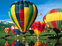 nice manned hot air balloon price / hot air balloon fabric