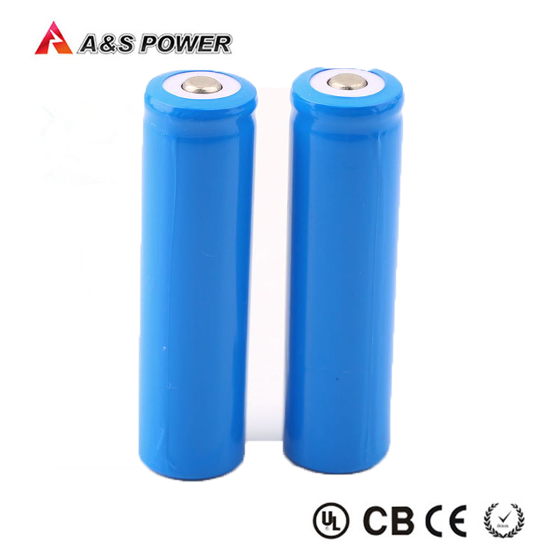 Rechargeable lithium 3.7V 2200mAh li-ion 18650 battery for led lights