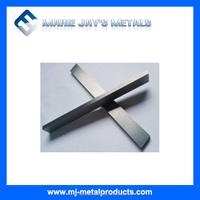 Tungsten carbide strips for grey cast iron processing