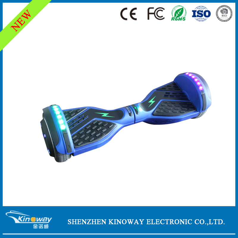 App Control UL2272 Self balancing electric scooter hoverboard two Wheel Smart wheel Skateboard with bluetooth