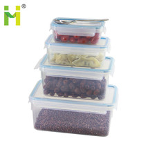 Wholesale household 1liter plastic waterproof containers bento lunch box japan heat seal food containers