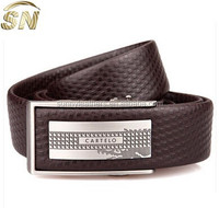 Causal 100% Genuine Leather Iron Buckle Men Belt