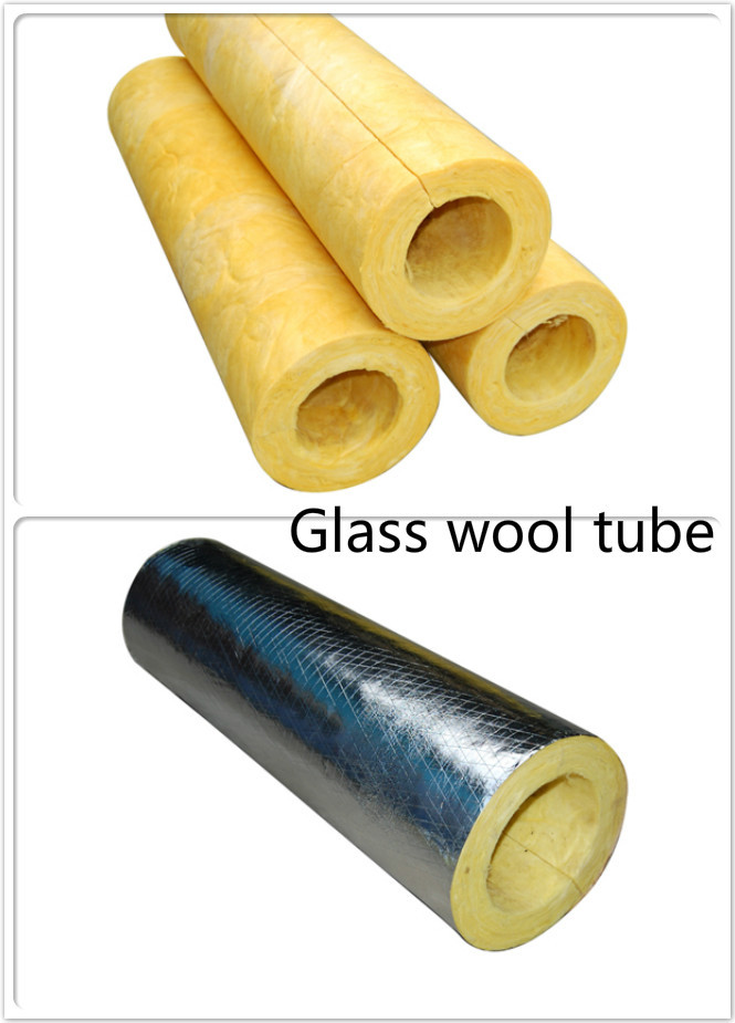 Heavy density heat resistant fiberglass pipe insulation for Fiberglass insulation density