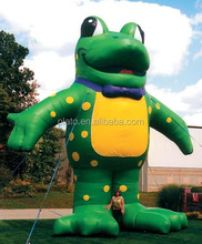 Hot sale giant inflatable Iguana/Inflatable frog model for promotion
