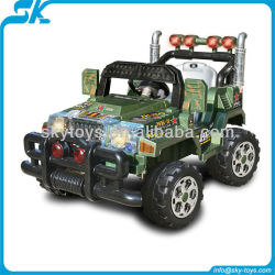!Kids rc off road ride on car jeep big ride on car children ride on racing car