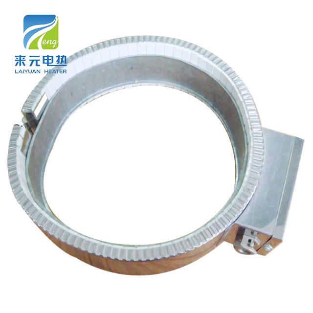 Film extruder electrical resistance type Mica Band Heater
