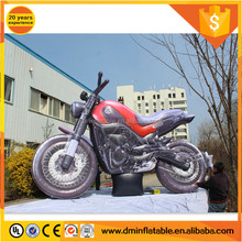 Custom replica model red and black inflatable motorcycle C-459
