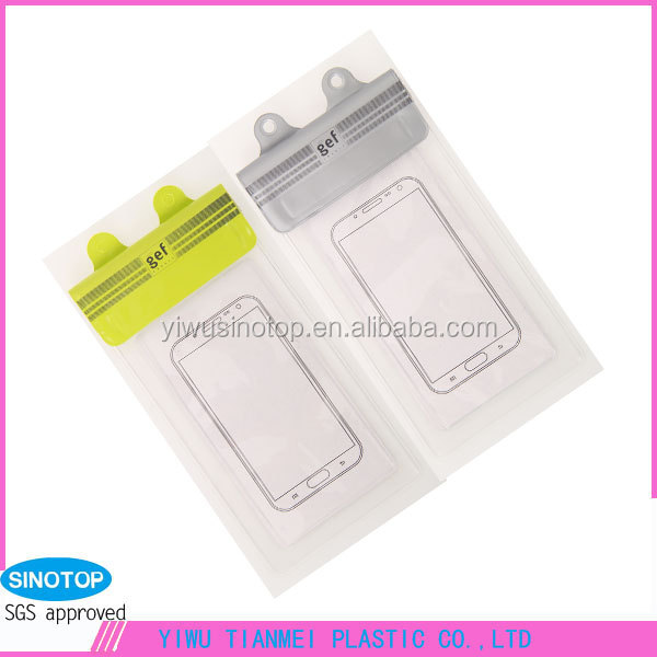 Velcro dry travel bag production cost cell phone pvc waterproof case