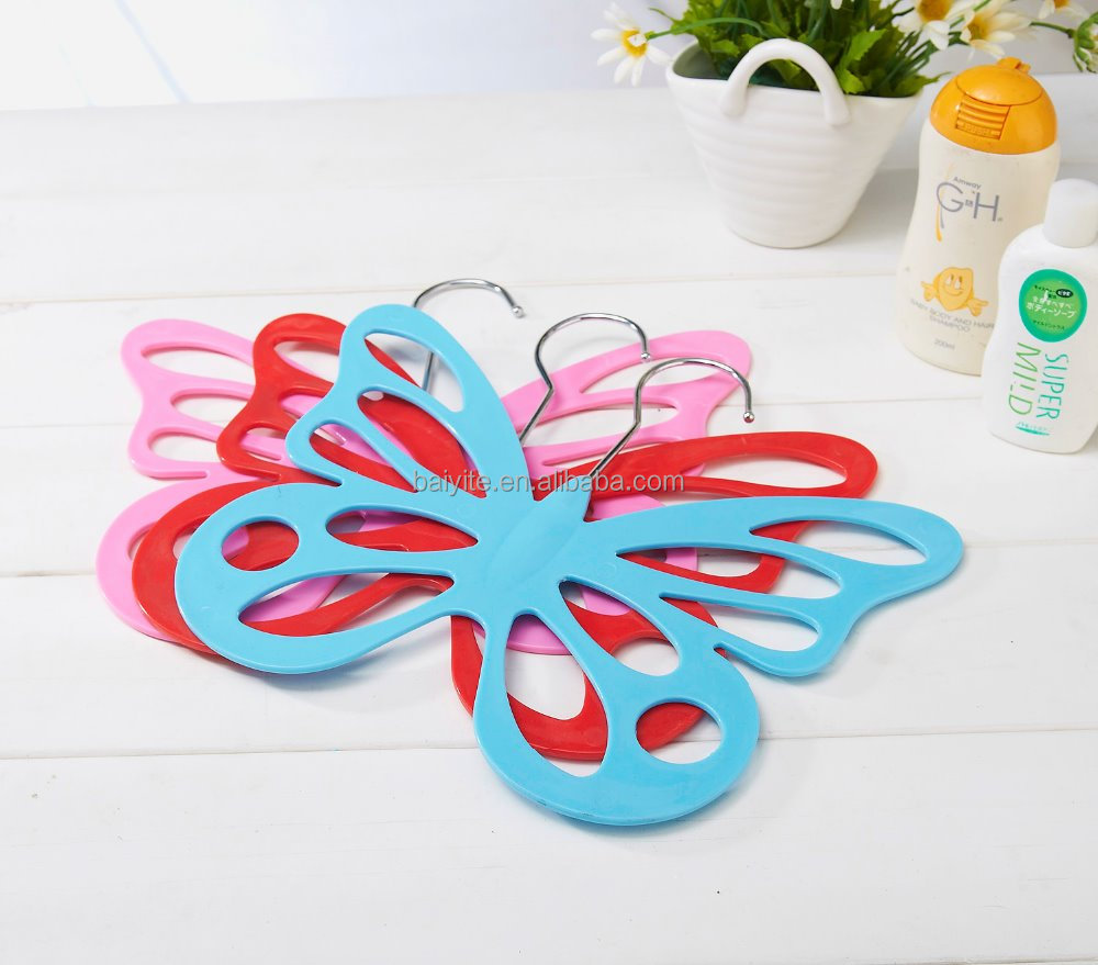 2013 NEW style plastic buterfly diamond scarf hanger
