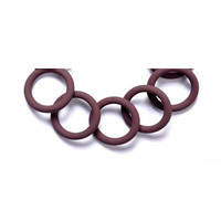 waterproof FFKM/ACR/HNBR rubber o rings with different colors
